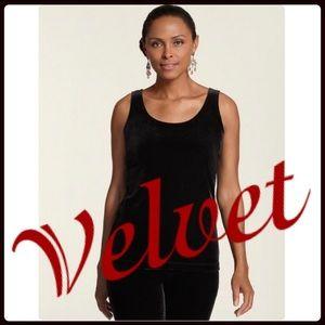 🎁 Chico's Velvet Tank Top